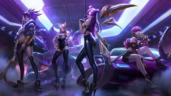 League Of Legends Interview With Patrick Morales Janelle Jimenez And Toa Dunn The Creators Of The Global Sensation K Da Pop Stars Inven Global