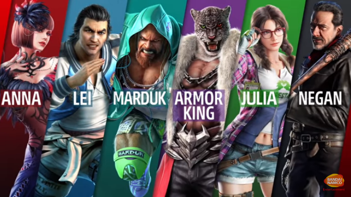 DLC Characters Marduk, Julia and Armor King revealed for