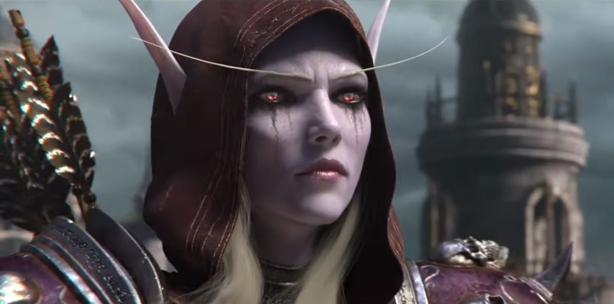 "Heroes of the Storm: Jackson on Sylvanas: "" If you're a very"