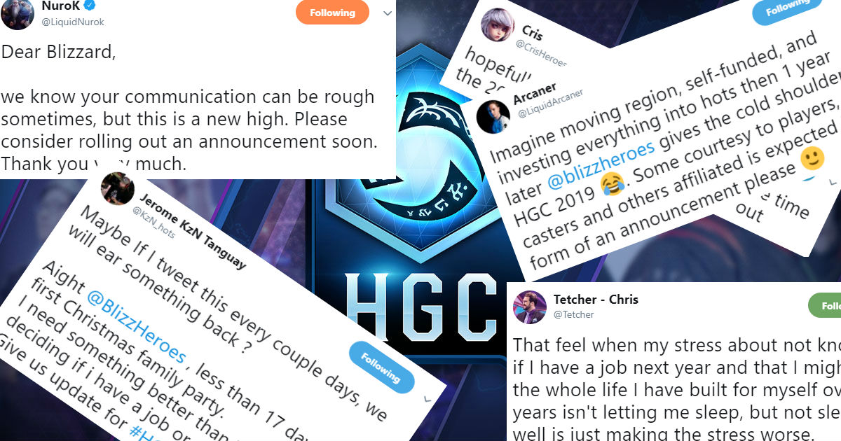 Heroes of the Storm: Heroes' pros, casters demand