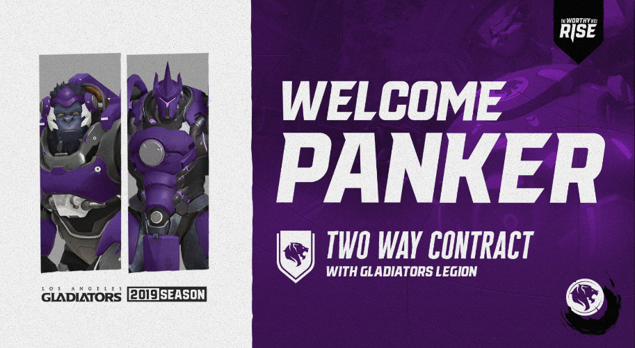 Overwatch La Gladiators Sign Byung Ho Panker Lee Onto Two Way Contract Inven Global
