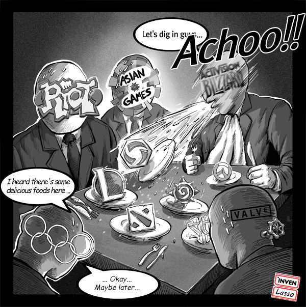 cartoon when all was going well hgc disbanded and concerns rose