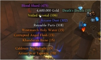corrupted angel flesh diablo 3 ps4