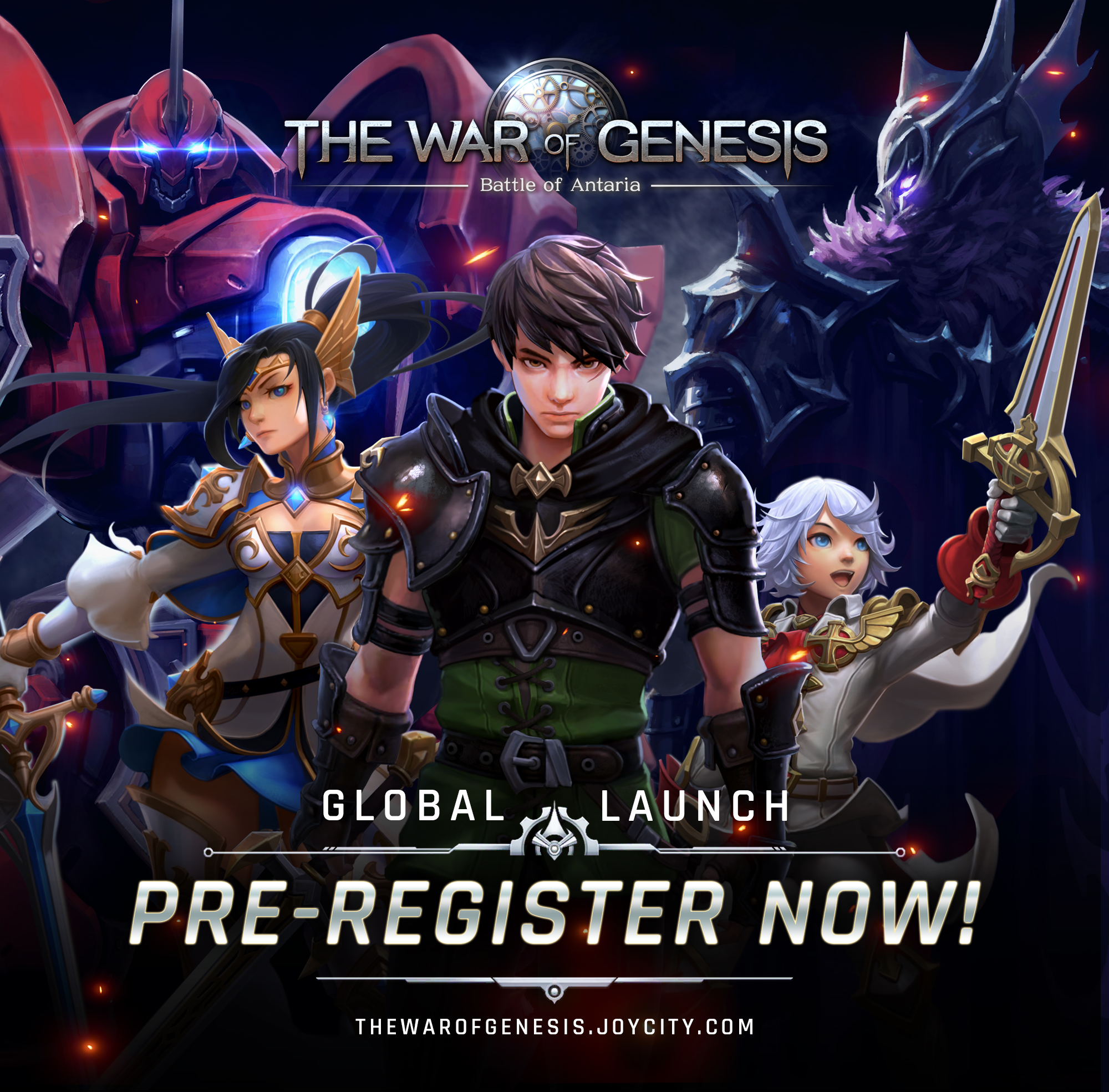 The War of Genesis Now Open for Pre-Registration - Inven Global