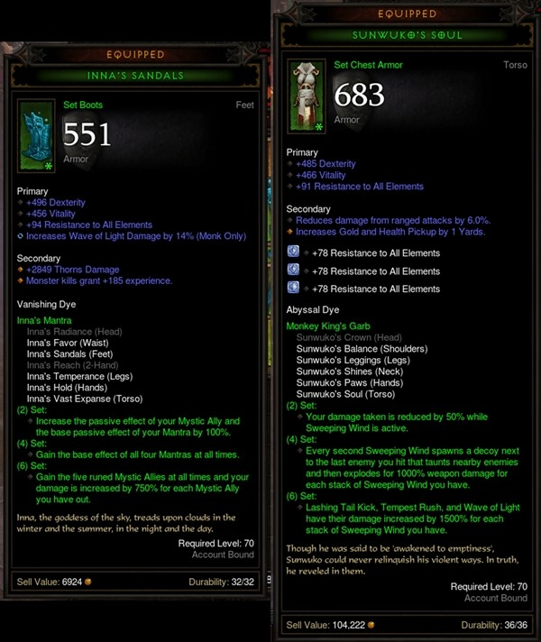 Diablo 3: [Diablo III] Sunwuko vs Inna: Rank 1 Asia Monk Explains