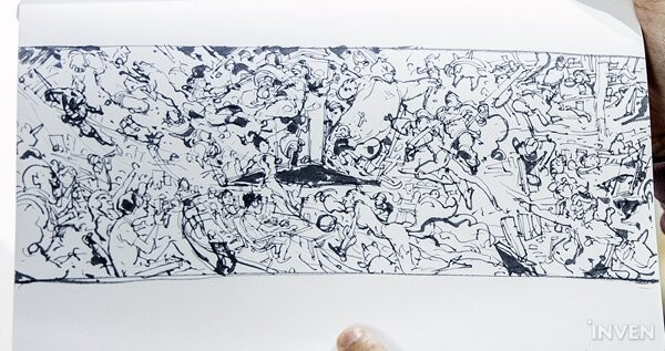 League Of Legends The Artist For The Lolpark And Riot Hq Mural Interview With Live Drawing Master Kim Jung Gi Inven Global Anime drawings league of legends nami art character design sketches beautiful drawings legend images legend legend drawing. live drawing master kim jung gi