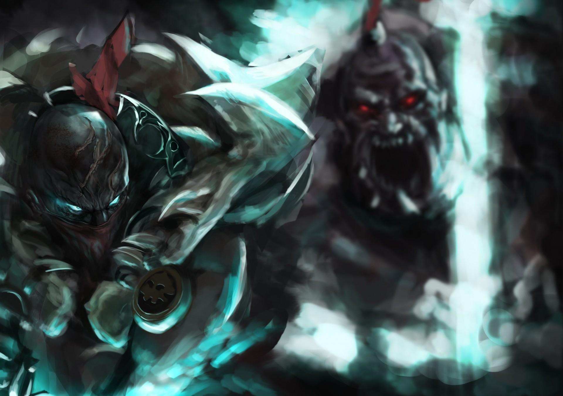 League of Legends: Pyke vs Sion - LoL Fanart - Inven Global
