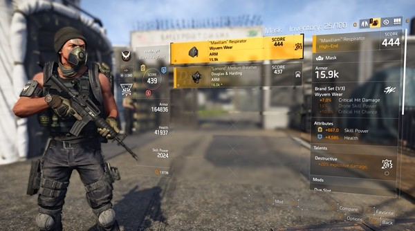 The Division 2 Guide List Of All Brand Sets And Recommended Builds Inven Global