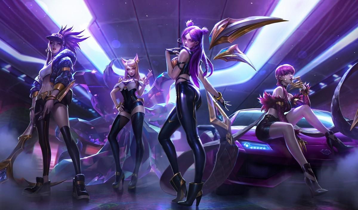 League Of Legends K Da Pop Stars Video On Youtube Surpasses 200
