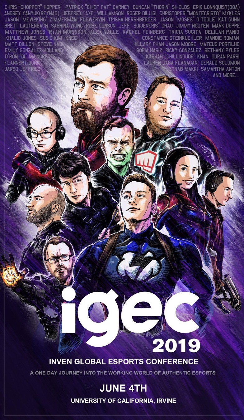 IGEC 2019 Assemble -- tickets on sale now! - Inven Global