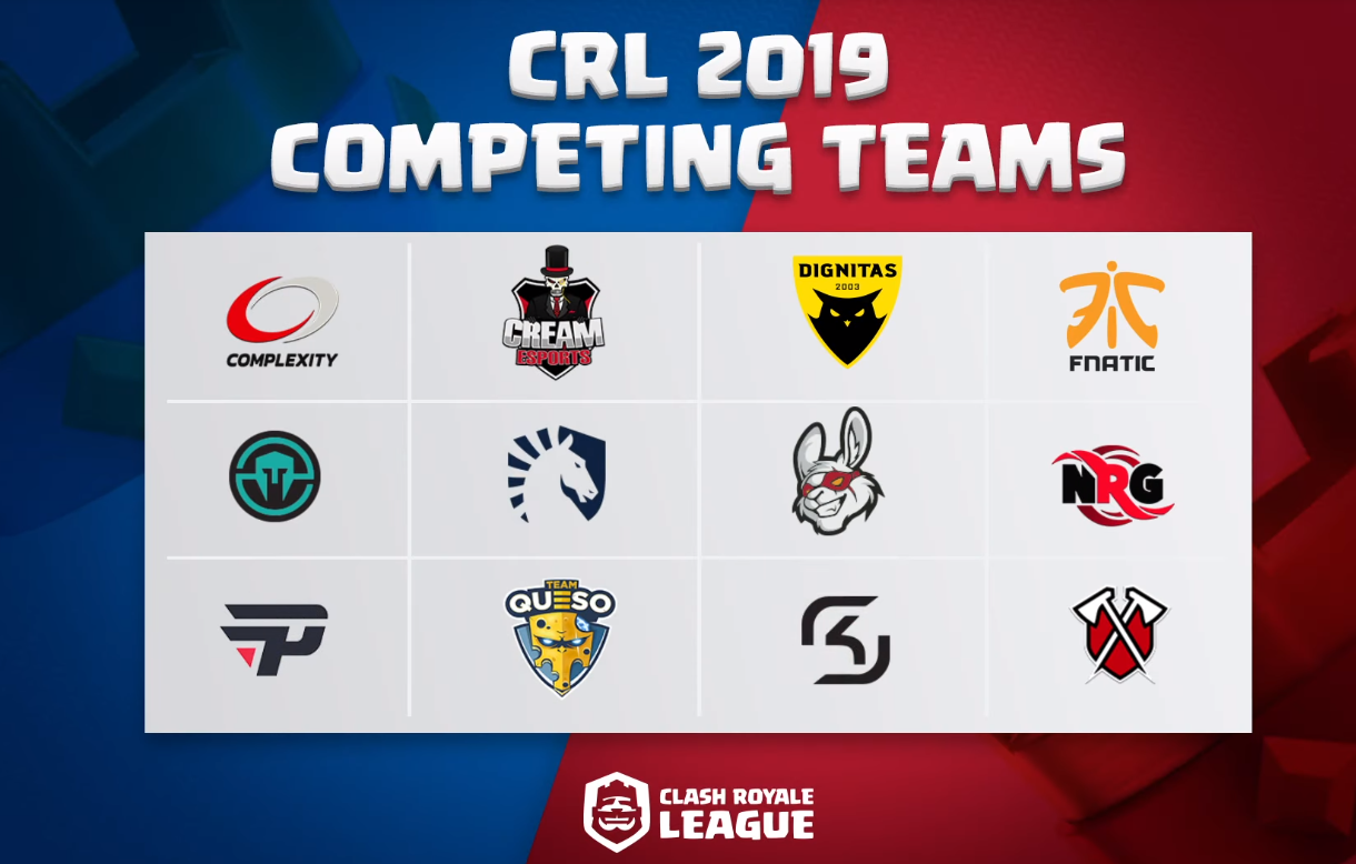 Clash Royale League Reveals First 12 Teams For 2019 Inven Global