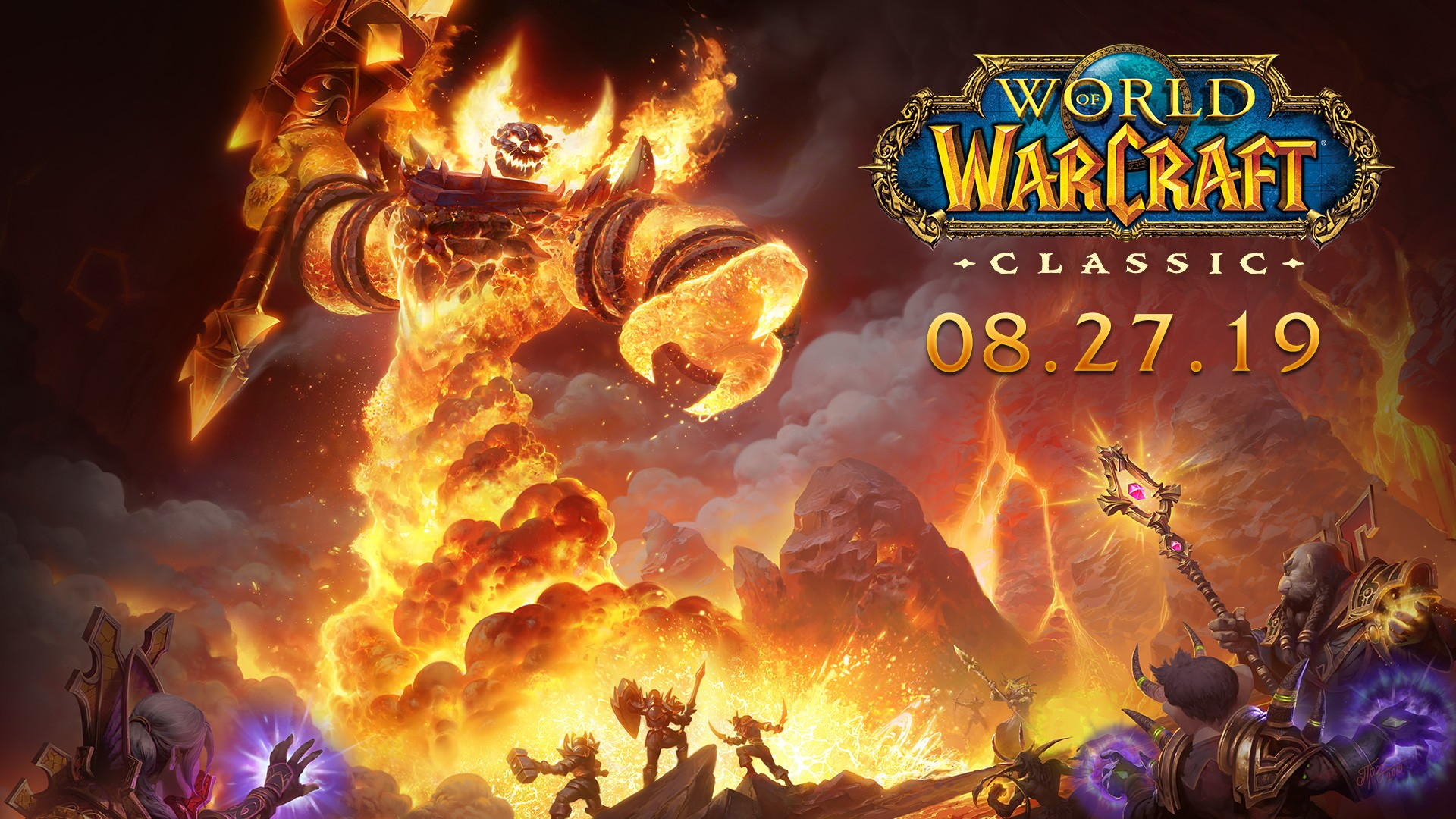 World of Warcraft Classic Launches 27th August 2019