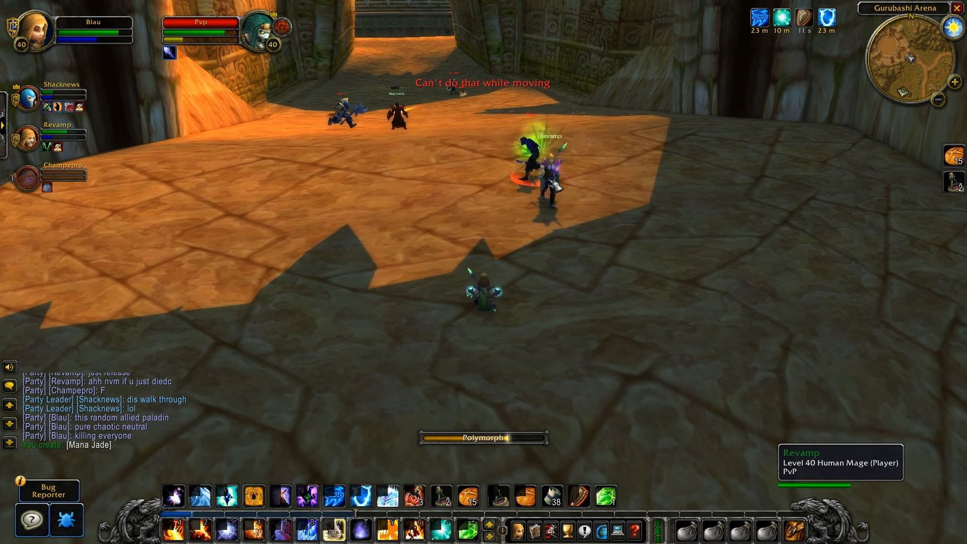 Three hours of World of Warcraft: Classic forced me to be