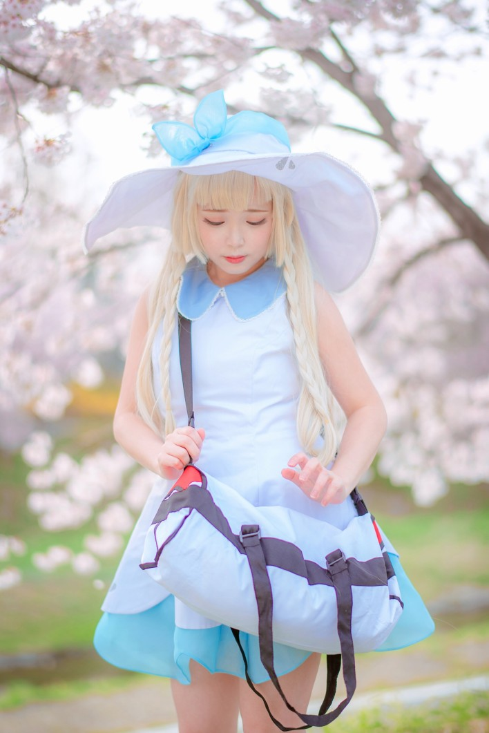 Pok 233 Mon Sun And Moon Lillie Cosplay Zeze Inven Global