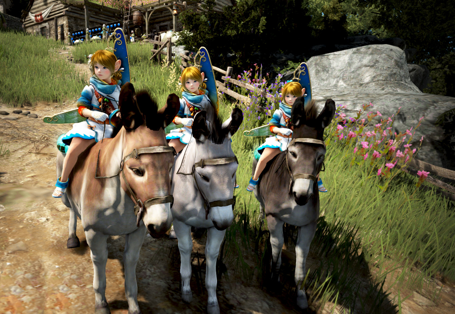 Black Desert Online Kr Patch Notes June 19th Addition Of Shai And Three New Donkeys Inven Global