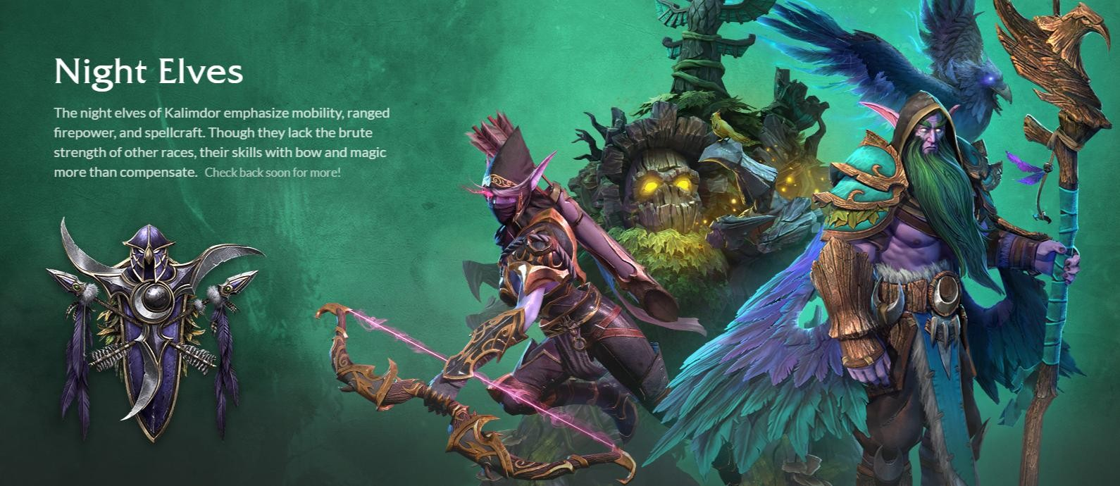 Warcraft 3 Reforged Unveils Nightelf Art Direction And Models