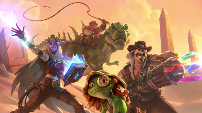 The card reveal season for Hearthstone's next expansion is just two