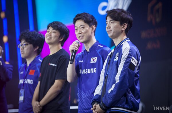 WCG 2019] Interview with Living Legend of Warcraft 3: Moon - Inven