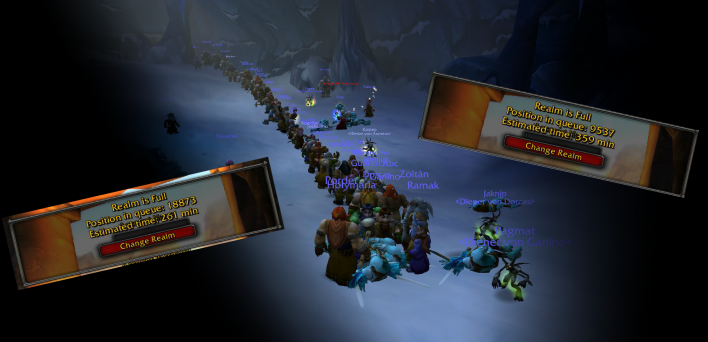 World of Warcraft: Classic Chronicles: Waiting in Line