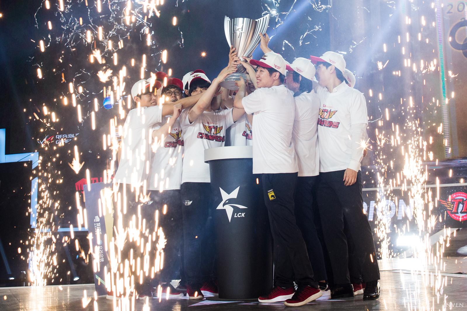 League of Legends: [2019 LCK Summer Finals] SK Telecom T1