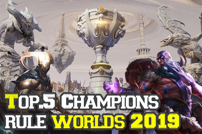 League Of Legends Champions Among Champions Top 5 Notable