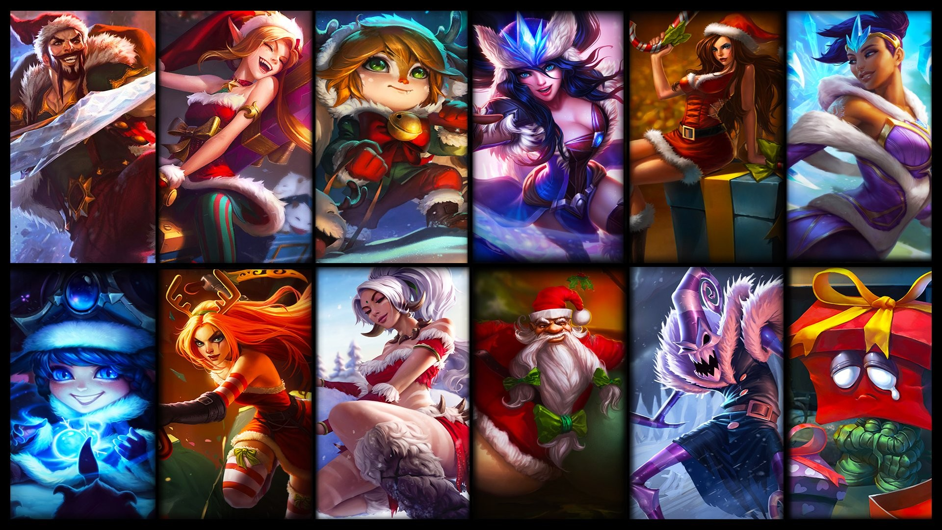The 5 League Of Legends Champions To Play During Christmas Inven