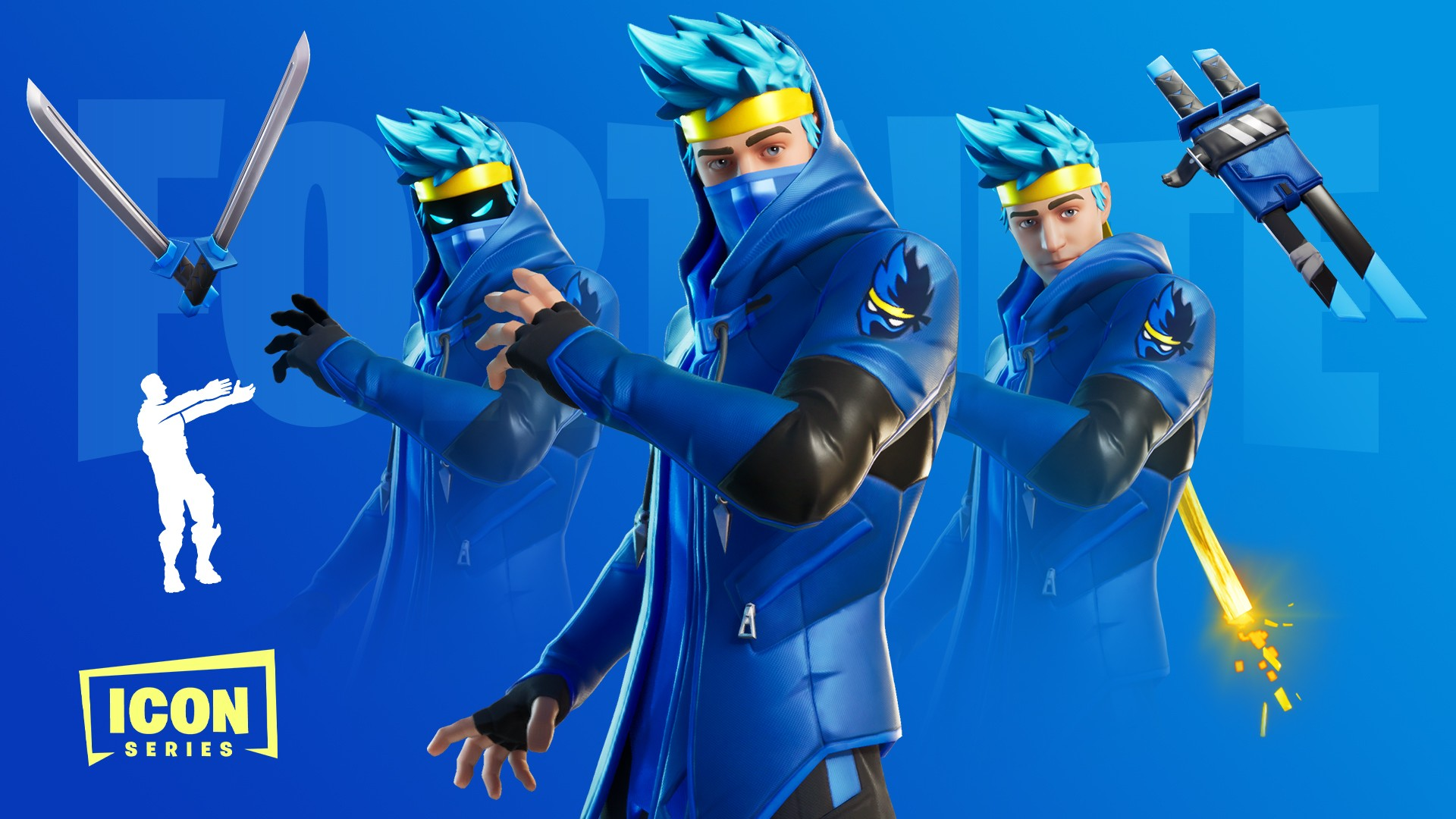 How Many Fortnite Icon Skins Are There The Ninja Set The First Of Fortnite S Icon Series Leaves The Shop Tonight Inven Global