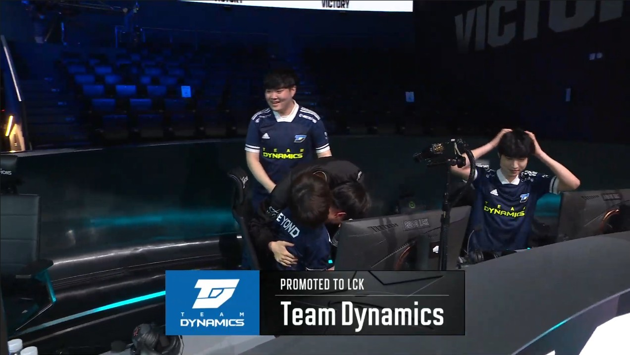 League of Legends: [LCK Today] Team Dynamics promotes into the LCK ...