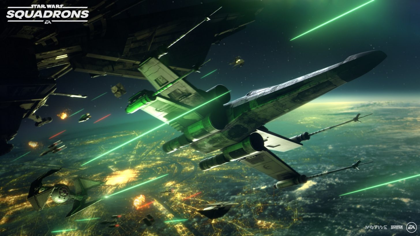 Star Wars Squadrons trailer premieres dynamic dogfights between Rebel and Imperial forces