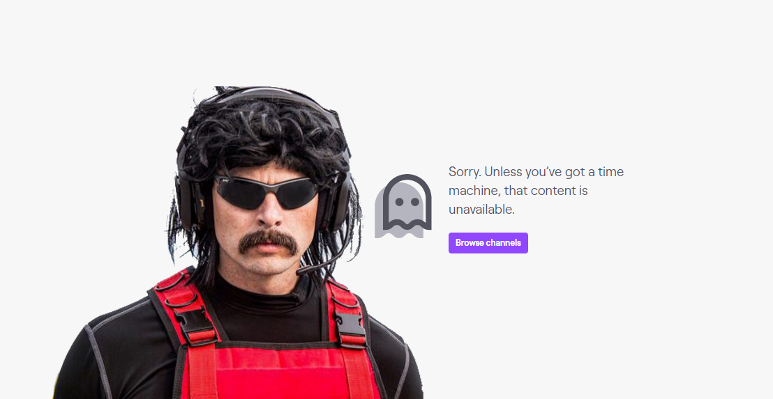 Dr Disrespect Twitch subs refunded, emoticons removed after ban