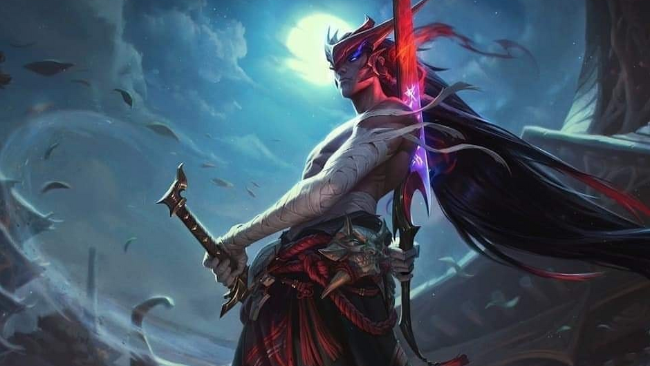 Updated 7 15 Splash Art For Upcoming League Of Legends Champion Yone Has Been Leaked Inven Global