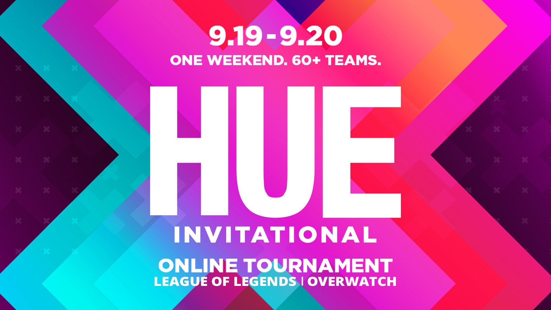 Updated 7 23 2020 Hue Invitational To Be Fully Virtual All Esports Events Affected By Covid 19 Inven Global
