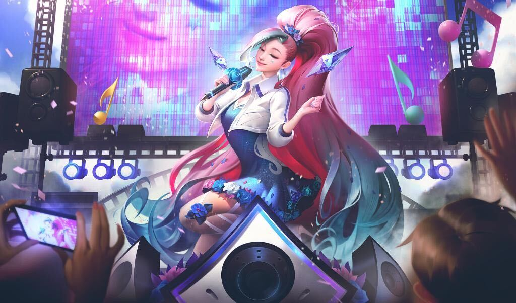 Seraphine: League of Legends' latest champion is a colorful pop star