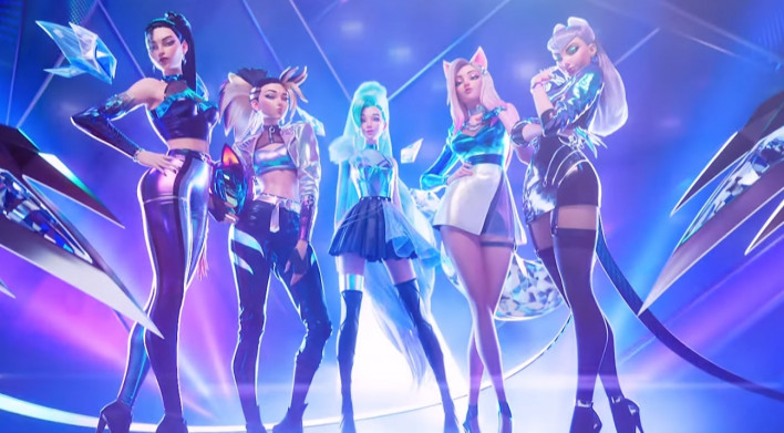 "League of Legends: [EXCLUSIVE] Seraphine about K/DA MORE: ""These were literally my idols, I didn't even know how to talk to them at first."" - Inven Global"