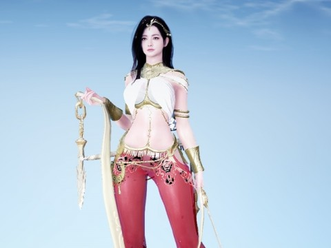 Black Desert Online: The combination of Red and Gold! Lahn's