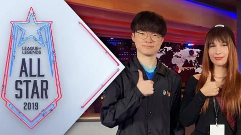 League Of Legends All Star 2019 T1 Faker Talks About The