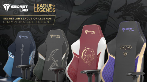 Secretlab and Riot Games drop League of Legends Champions gaming chair collection