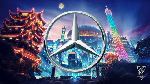 Mercedes-Benz signs global partnership with Riot Games ahead of Worlds 2020