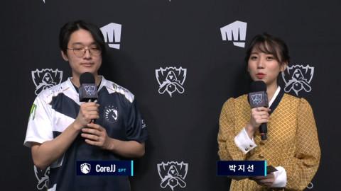 "[Worlds 2020] TL CoreJJ on using IG Rakan instead of his own: ""I think that the Q hitbox on IG Rakan feels a bit sharper."""
