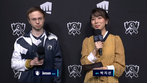 """[Worlds 2020] TL Jensen: """"We're just playing better, and the aggression kicks in naturally."""""""