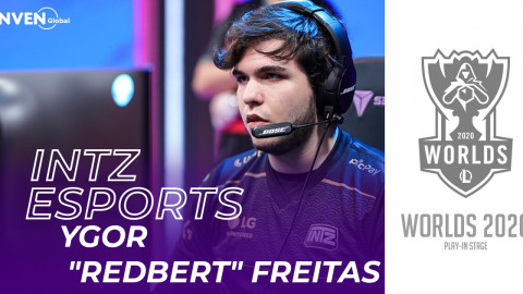 [Worlds 2020] INTZ RedBert:After being 0-3 we decided to start with some rituals, we asked our mothers to pray…