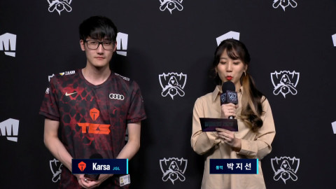"""[Worlds 2020] TES Karsa: """"I can play any jungle champion according to where we need more power."""""""
