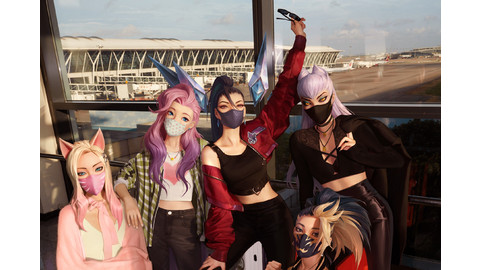 Unleash your inner K-pop star with the K/DA #SINGMORE challenge