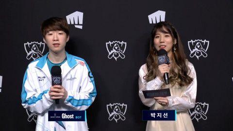 """DWG Ghost on game 4: """"From the draft, we were able to see that G2 was shaken up."""""""