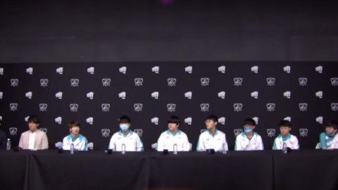 """DWG Press Conference Zefa: """"I'm happy that we can finally stop people framing [G2], Korean Killer."""""""