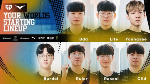 Gen.G announces their 7-man roster for Worlds 2021