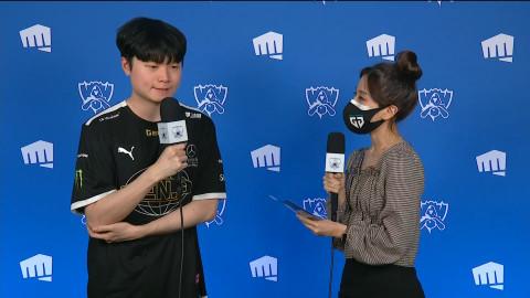 "GEN Bdd: ""C9 seems like the weakest team, so it's a relief for me."""